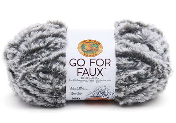 LION BRAND - Go For Faux Yarn - Assorted Colours
