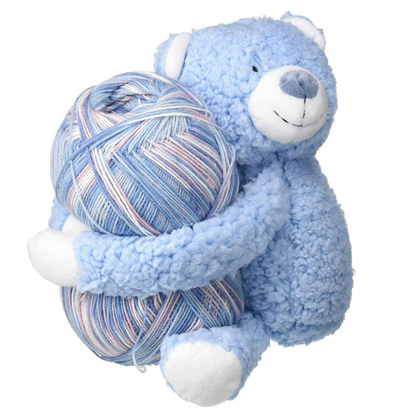 DMC - Hug This Yarn Baby Blanket Kit - Teddy