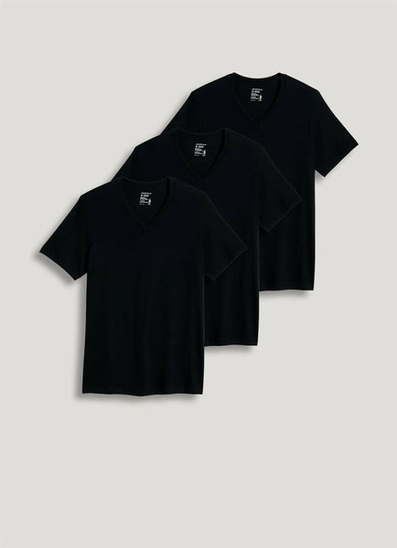 JOCKEY - Classic V-Neck 3 Pack - Black