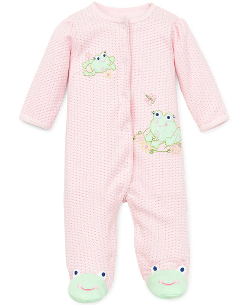LITTLE ME - Sweet Frogs Footed One Piece