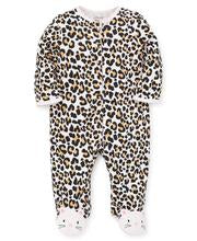 LITTLE ME - Leopard Footed One Piece