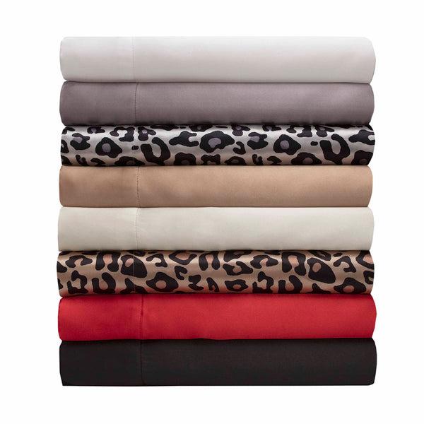 LUXURY SATIN - Satin Sheet Set King