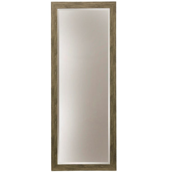 STYLECRAFT - Leaner or Wall Mirror - Wood Grain Grey