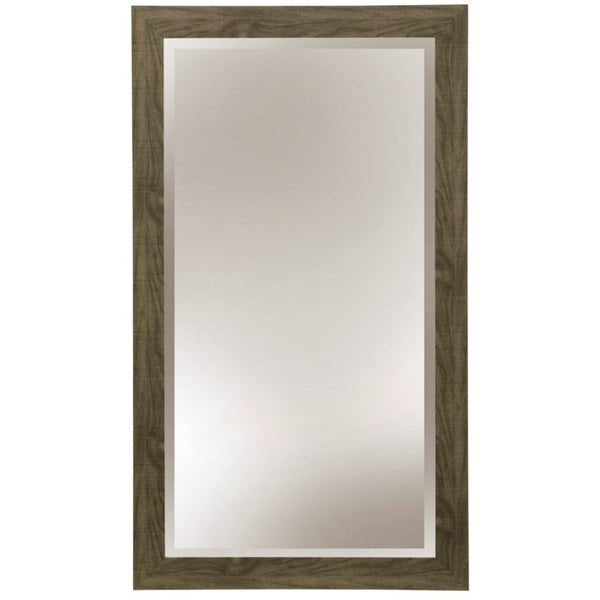 STYLECRAFT - Wood Grain Grey Wall Mirror