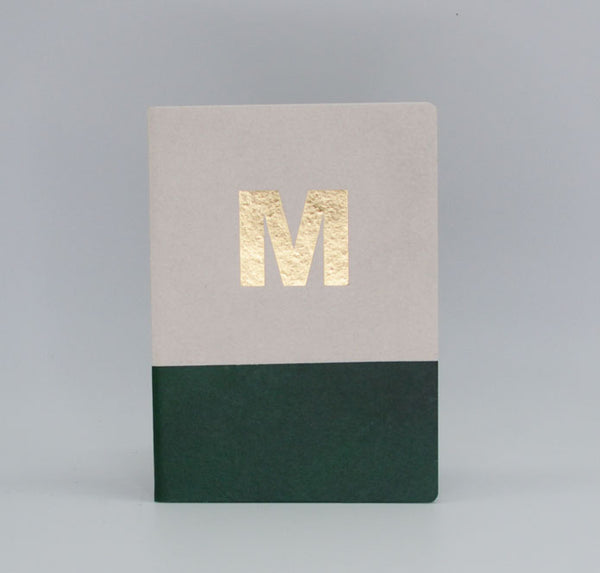 Gold Foil Alphabet Book - M