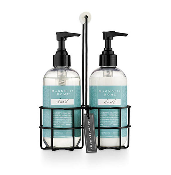 MAGNOLIA - Sink Set Caddy Hand Wash + Lotion