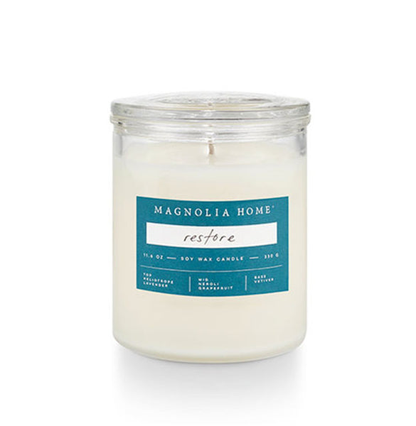 MAGNOLIA - Glass Jar Candle All Scents