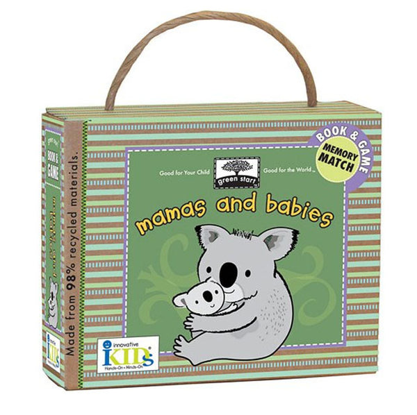 GREEN START - Mamas and Babies Book and Game - (3+Yrs.)
