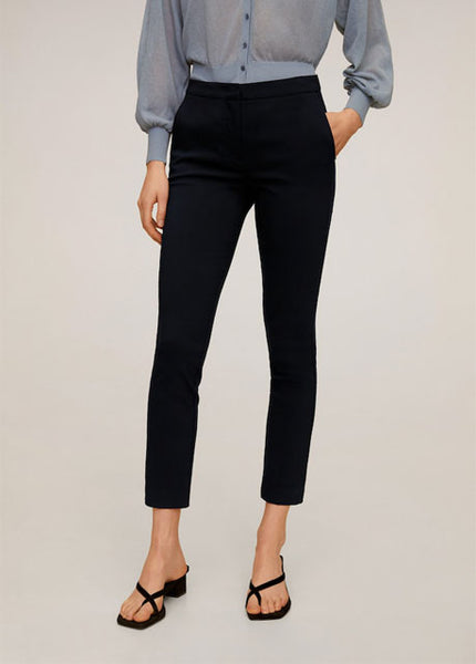MANGO - Crop Skinny Pants - Assorted Colours