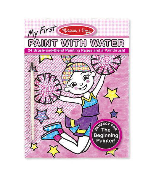 MELISSA AND DOUG - My First Paint with Water Pink - (3Yrs+)