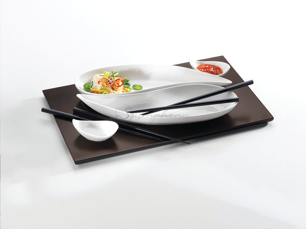 SYMPHONY Alfresco Fortuna Serving Set 5 With 2 Pairs Of Chopsticks