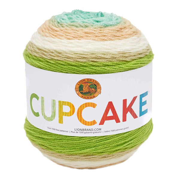 LION BRAND - Cupcake Yarn - Assorted Colours