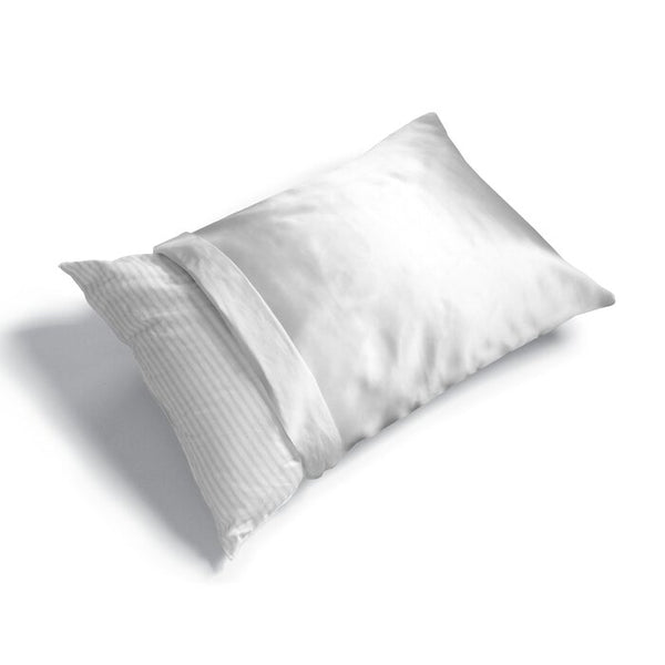 FRESH IDEAS - Luxury Satin Pillow Protector - Standard