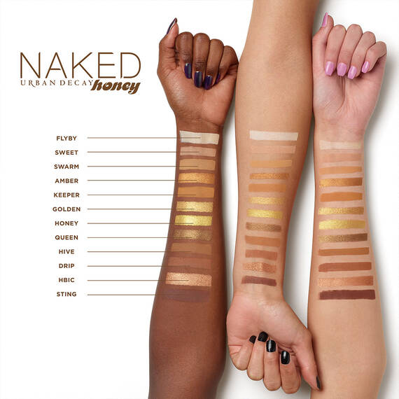 URBAN DECAY - Naked Honey - Eyeshadow Palette