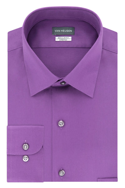 VAN HEUSEN - Regular Fit Dress Shirt - River Rock