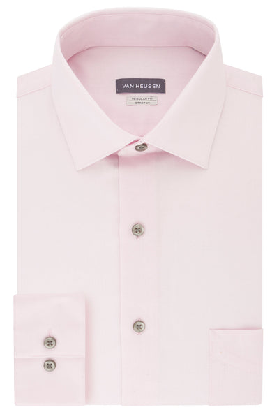 VAN HEUSEN - Regular Fit Dress Shirt - Pink Mist