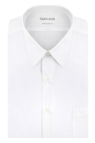VAN HEUSEN - Regular Fit Dress Shirt - White