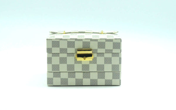 Jewelry Box Iconic Check Print Small - Additional Colour Available