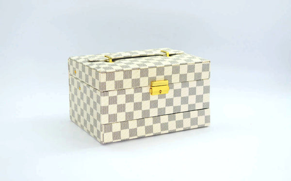 Jewelry Box Iconic Check Print - Additional Colour Available