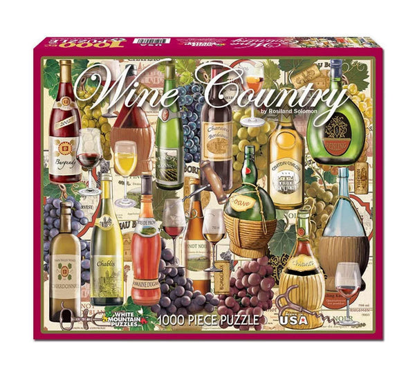 WHITE MOUNTAIN - Wine Country 1000 Piece Puzzle