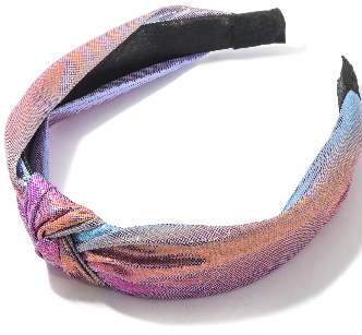 ANARCHY - Pearlescent Fabric Knit Head Band