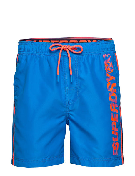 SUPERDRY - State Volley Swim Short - Weekend Blue