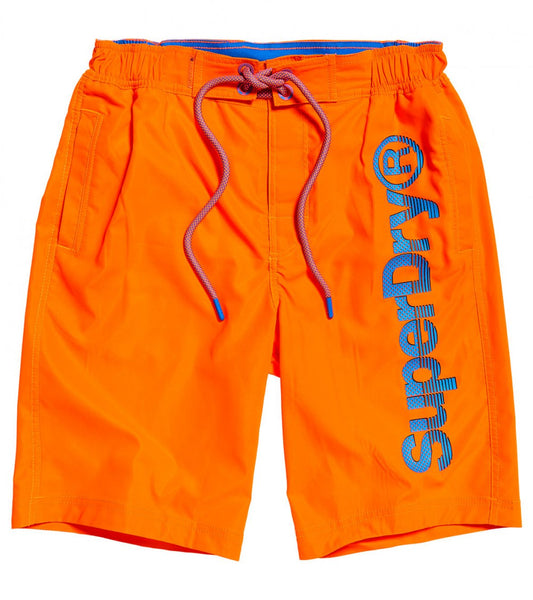 SUPERDRY - Classic Boardshorts - Volcanic Orange