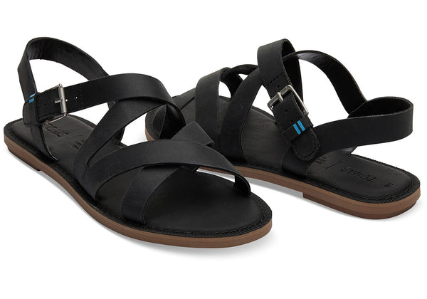 TOMS - Leather Women's Sicily Sandals - Assorted Colors