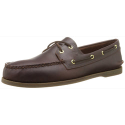 SPERRY M TOP-SIDER A/O BOAT SHOE AMARETTO