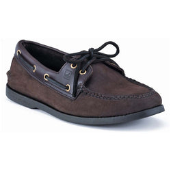 SPERRY M TOP-SIDER A/O BOAT SHOE BROWN//BUCK BROWN