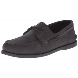 SPERRY M TOP-SIDER SCHOOL SPIRIT AO BOAT SHOE BLACK