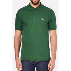 LACOSTE CLASSIC FIT SHORT SLEEVE PIQUE POLO SHIRT CHLOROPHYLL GREEN