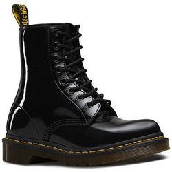 DR. MARTENS W 1460 8-EYE BOOT PATENT BLACK