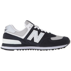 NEW BALANCE M 574 CORE SHOES NAVY/GREY