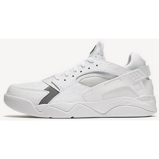 sale retailer 65d3e b041e NIKE AIR FLIGHT HUARACHE LOW M WHITE BLACK .