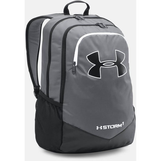UNDER ARMOUR STORM SCRIMMAGE BACKPACK GRAPHITE (040) / BLACK