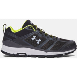 UNDER ARMOUR M VERGE LOW HIKING BOOTS BLACK/ELEMENTAL