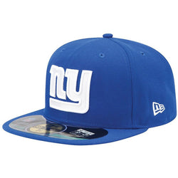 NEW ERA NEW YORK GIANTS 59FIFTY NFL ON FIELD FITTED CAP ROYAL BLUE
