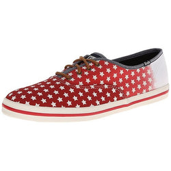 KEDS W CHAMPION PATRIOTIC FASHION SNEAKER RED