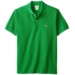 LACOSTE CLASSIC FIT SHORT SLEEVE PIQUE POLO SHIRT GREEN