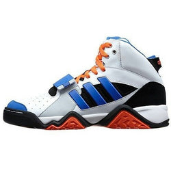 ADIDAS M ORIGINALS STREETBALL 1.5 BASKETBALL SHOES WHITE/VIVID BLUE/ BLACK