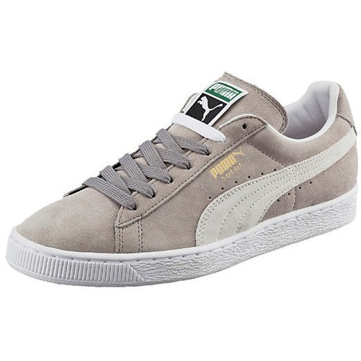 PUMA M SUEDE CLASSIC ECO SNEAKERS GREY/WHITE