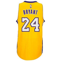 ADIDAS KOBE BRYANT NBA LOS ANGELES LAKERS SWINGMAN JERSEY YELLOW