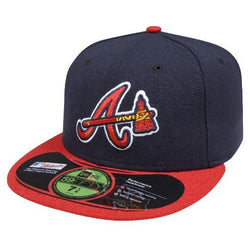 NEW ERA ATLANTA BRAVES 59FIFTY MLB ALTERNATE AUTHENTIC COLLECTION ON-FIELD 59FIFTY FITTED CAP