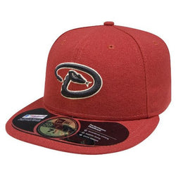 NEW ERA ARIZONA DIAMONDBACKS 59FIFTY MLB ALT 2 AUTHENTIC COLLECTION ON-FIELD FITTED CAP RED