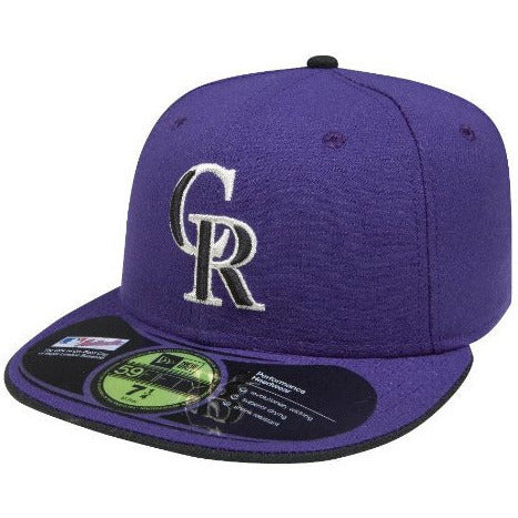 NEW ERA COLORADO ROCKIES 59FIFTY MLB ALT 2 AUTHENTIC COLLECTION ON-FIELD FITTED CAP