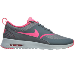 NIKE W AIR MAX THEA RUNNING SHOES COOL GREY/PURE PLATINUM/PINK POW