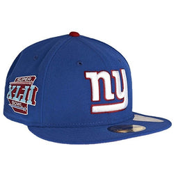 NEW ERA NEW YORK GIANTS 59FIFTY NFL SUPERBOWL XLII FITTED CAP