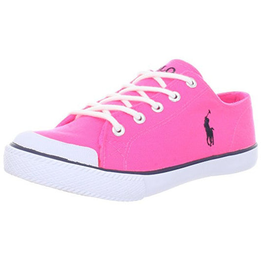POLO RALPH LAUREN KIDS CHANDLER (LITTLE KID) SNEAKER NEON PINK