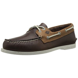 SPERRY M TOP-SIDER A/O SARAPE BOAT SHOE BROWN
